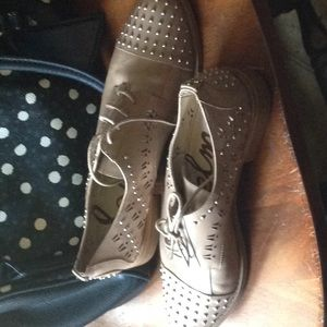 Sam Edelman Studded Loafers EUC